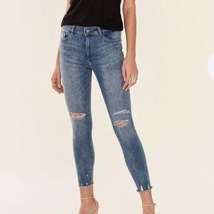 Dl1961 Florence insta sculpt cropped jeans